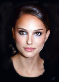 """Natalie Portman, b. in Israel, m. to Benjamin. They would kill US, except they don't realize their power. """"Truly I tell you, if you have faith as small as a mustard seed. Estilo Natalie Portman, Natalie Portman Hot, Beauty Makeup, Hair Makeup, Hair Beauty, Eye Makeup, Beautiful Celebrities, Beautiful Actresses, Beautiful Eyes"""