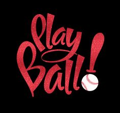 Play Ball With Your Choice Of Glitter Or by MyCreativeOutletTime