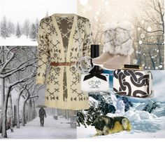 """""""Winter's Coming...."""" by raindance-maggie ❤ liked on Polyvore"""