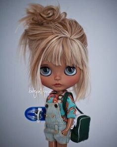   pinterest- @bkaftan   previous pinner--Introducing Sue my new gorgeous surfer girl by amazing artist @suedolls I love her! We spent our day yesterday in #eventoblythemadrid and had a wonderful time we brought home a lot of newbies and love. Thank you Susana for bringing her to life you are lovely!