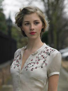 hyperb0rean:    Katherine Hooker, London - Summer 2010 collection.