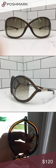 628f41c4289 Tom Ford Whitney Sunglasses 100%authentic Whitney Sunglasses from Tom Ford.  In very good