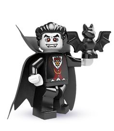 Vampyre Lego minifigure. (Lego really DID spell it as vampyre)