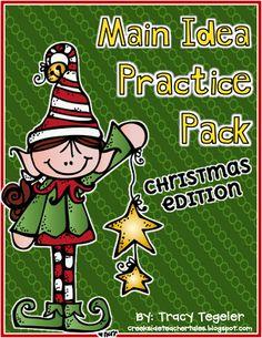 Creekside Teacher Tales: New Pack, Giveaway, & CHRISTMAS FREEBIE **FREEBIE**