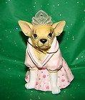 Aye Chihuahua Princess Figurine New in Box - http://cutefigurines.net/aye-chihuahua/aye-chihuahua-princess-figurine-new-in-box/