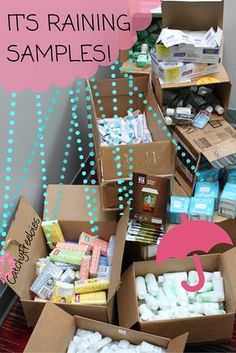 It's Raining Samples at CatchyFreebies.com! Sign up to explore the best brand-name samples and be eligible for members-only giveaways! Soak up the best samples online! #ItsRainingSamples