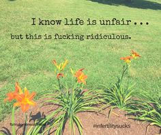 Infertility. Miscarriage. Grief.
