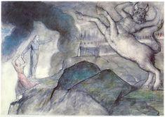 Minotauro by William Blake