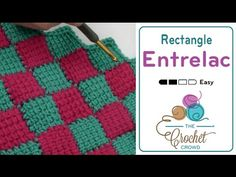 How to Crochet: Entrelac - YouTube