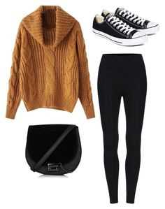 """""""Life is Cold"""" by laura-rathbone on Polyvore featuring Converse"""