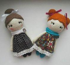 Amigurumi piccole lady doll