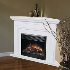 gas corner fireplace designs with shelves | Luxury fireplaces, mantels, screens, glass doors and accessories from ...
