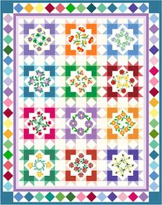 Quilting blog with a free block of the month