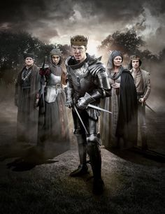 THE HOLLOW CROWN (BBC, 2016) ~ Benedict Cumberbatch (as Richard III) and cast.