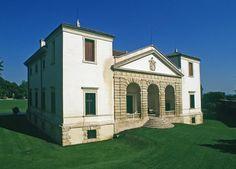 Villa Pisani Bonetti - Bagnolo di Lonigo Renaissance Architecture, Art And Architecture, Republic Of Venice, Andrea Palladio, Villas In Italy, Italian Villa, World Heritage Sites, Verona, The Good Place