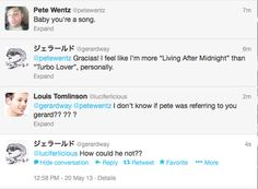 Sassy Gee<<<Louis, you do not have permission to even look at these emo legends