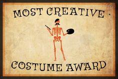 Most Creative Costume Award