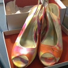 Style & co stilettos. Brand new in box never worn! Brand new shoes never worn cute for summer Style & Co Shoes