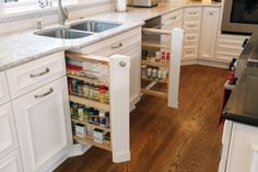 pullout spice rack