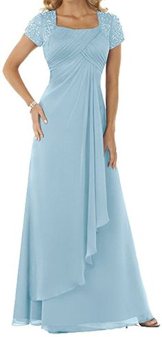 Chic Toponline Womens Simple Lady Style Long Exquisite Bridesmaid Party Dress Fashion Women Clothing 12469 protophits from top store Mother Of Bride Outfits, Mother Of Groom Dresses, Mothers Dresses, Mother Of The Bride, Dusty Purple Dress, Military Ball Dresses, Evening Dresses, Formal Dresses, Office Dresses