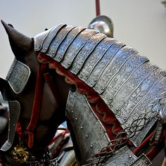 medieval horse armor by ampangmarin, via Flickr