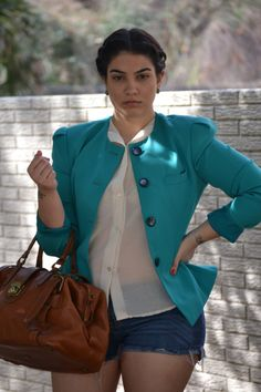 "real-arab-beauty: ""Lebanese-American plus size model Nadia Aboulhosn. "" beautiful"