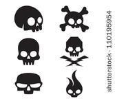 small simple skull tattoo designs | Skull ♥ | Pinterest