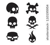 small simple skull tattoo designs | Skull ♥ | Pinterest
