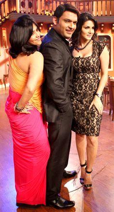 #KAPIL SHARMA & #SUNNY LEONE BURY THE HATCHET #fridaymoviez