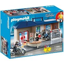 Playmobil - Station de police transportable (5299)