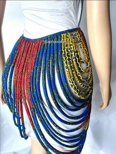 62a97e53341881 Lichaam sieraden touw ketting Afrikaanse accessoires Touw Sieraden