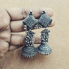 Retro Indian Bollywood Jhumka Jhumki Crystal Drop Earring Ethnic Gypsy Jewelry Exquisite Earrings Christmas Gifts Delaying Senility Drop Earrings Jewelry & Accessories