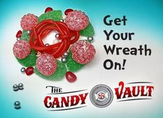December 03 - Candy Advent Calendar - Pin if you're ready to deck the halls! We sure are.  The Candy Vault, Salmon Arm, BC Candy Advent Calendar, Colorful Candy, Deck The Halls, Salmon, December, Arm, Clip Art, Creative, Holiday