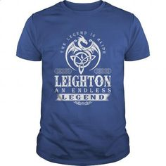 The Legend Is Alive LEIGHTON An Endless Legend - #gifts for girl friends #grandparent gift. ORDER NOW => https://www.sunfrog.com/Names/The-Legend-Is-Alive-LEIGHTON-An-Endless-Legend-116626292-Royal-Blue-Guys.html?60505