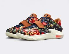#Nike KD VII EXT QS Floral #sneakers