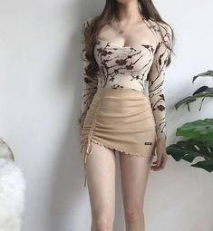 Sexy Outfits, Korean Outfits, Pretty Outfits, Sexy Dresses, Beautiful Outfits, Girl Outfits, Cute Outfits, Fashion Outfits, Womens Fashion