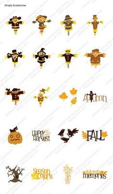 Cricut® Simply Scarecrow Cartridge - Cricut Shop