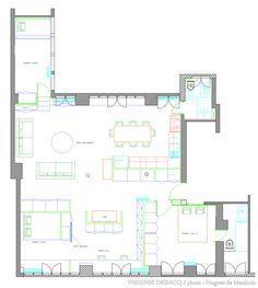 Plan d'un appartement de 110m2