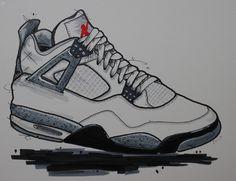 #nike #air #jordan #mj #jordanvi #art #canvas #painting #ink #snkr #sneaker  gerdesbjoern@gmx.de for questions