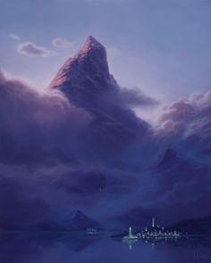 ArtStation - Shadow of the Mountain, Marin Olah