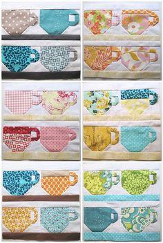 tea cup block ( non paper pieced )