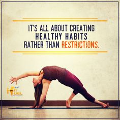 Create healthy habits. Discipline is the key.  #MFFQuotes