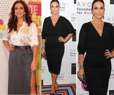 blusa preta gola v feminina look - Pesquisa Google