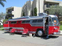Flxible Starliner Home Motor Coach Bus - 1957 by MR38, via Flickr
