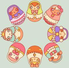 Nesting Dolls by ~puisne on deviantART
