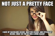 This is me, have all three. Half a step away from a doctorate but don't want the student loans!!