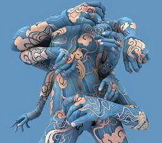 Sharply - Criatividade em Ação | A Surpreendente evolução da Body Art