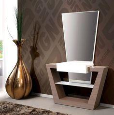 Tv Unit Furniture Design, Corner Furniture, Table Furniture, Bedroom Bed Design, Bedroom Furniture Design, Bathroom Interior Design, Modern Luxury Bedroom, Luxurious Bedrooms, Modern Dressing Table Designs