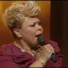 GM! Happy Friday!! IN THE ARMS OF JESUS IS A GOOD PLACE TO BE!! Tamela Mann @davidandtamela #PowerInTheTongue #ilovethislady Black Hair Cuts, Short Hair Cuts, Short Hair Styles, Natural Hair Styles, Pixie Cuts, Pin Curls Short Hair, How To Curl Short Hair, Short Relaxed Hairstyles, Short Black Haircuts
