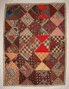 Pennsylvania Antique Doll Bed Quilt.